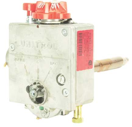 Water Heater Thermostats (Residential) Therm-O-Disc Style: Description: Price & Quantity # 08123 For lower thermostat element: Therm-O-Disc Style: $8.99