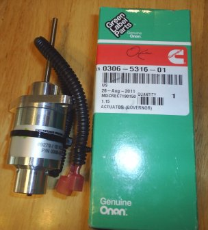Rv Replacement Parts >> R & K Products : Onan 306-5316-01 Governor Actuator [306-5316-01] - $475.10, Reviews