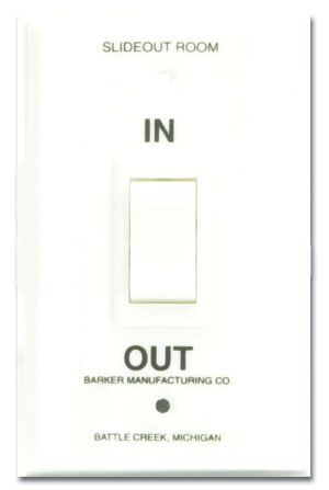 Barker 29536 Slide Out Switch for use with 27667 or 27666 Module