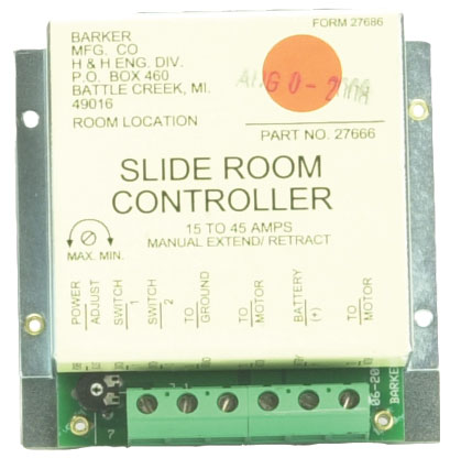BARKER 27666 SLIDE OUT CONTROLLER (MODULE ONLY)