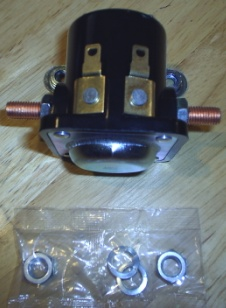 Onan 307-2586 Start Solenoid for KY, KYD, KV, and KVD