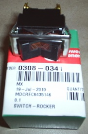 Onan 308-0341 Rocker Switch