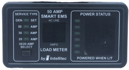 Intellitec 0000903150 50A Smart EMS Monitor Panel