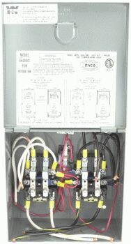 ESCO ES3030I AUTOMATIC TRANSFER SWITCH