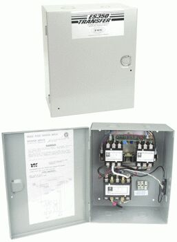 ESCO ES350 AUTOMATIC TRANSFER SWITCH FOR 3 50A POWER SOURCES