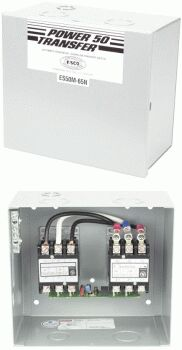 ESCO ES50M65N 50 AMP TRANSFER SWITCH