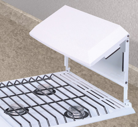 BIFOLD STOVE COVER (RA MODEL) WHITE