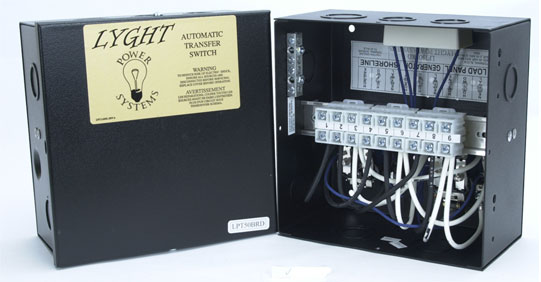 r k products lyght power lpt50brd 50 amp transfer switch w lugs