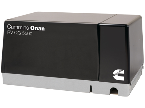 "Cummins Onan 5.5HGJAB 901 ""Quiet Gasoline"" RV QG 5500 Watt RV"